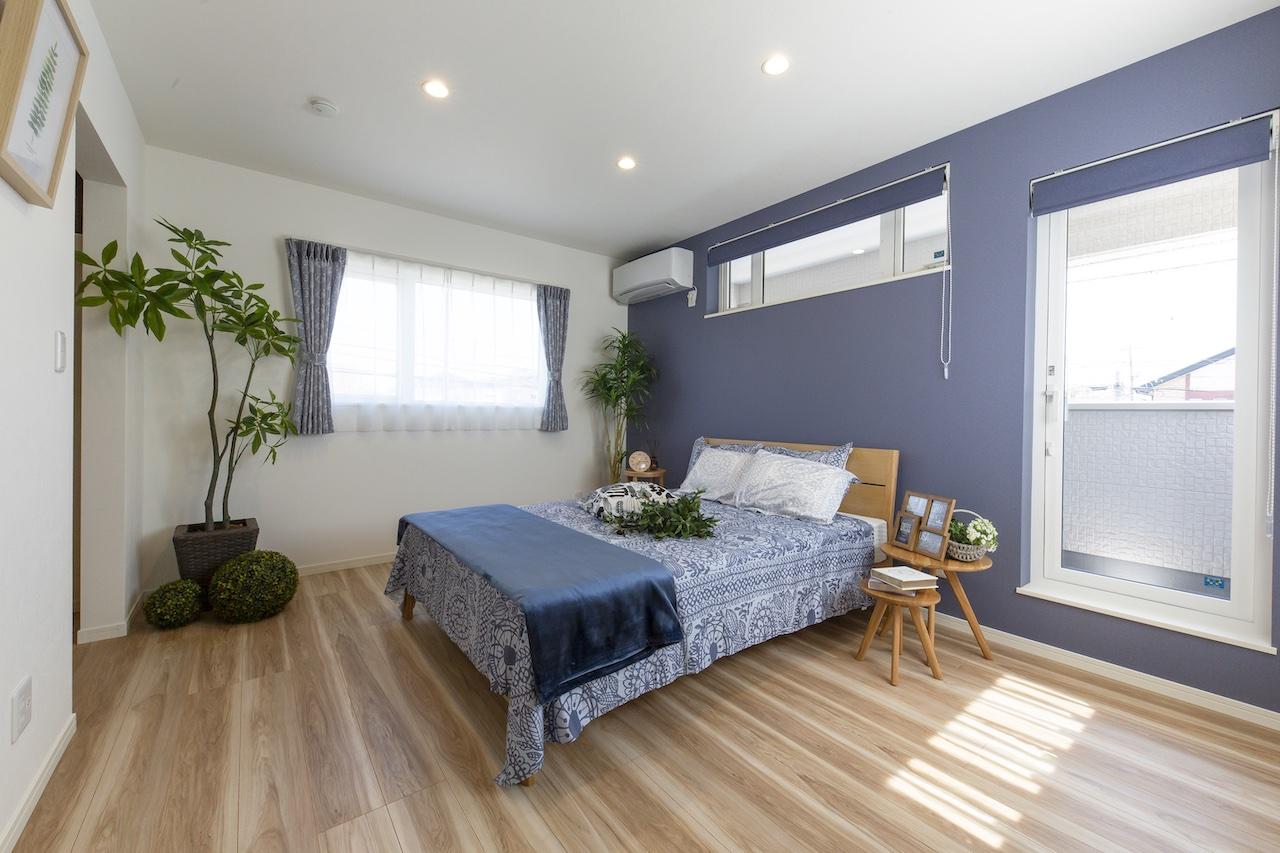画像:寝室